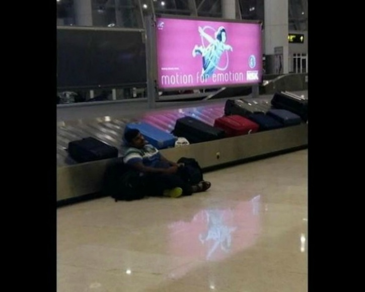 Flooding in Chennai Airport