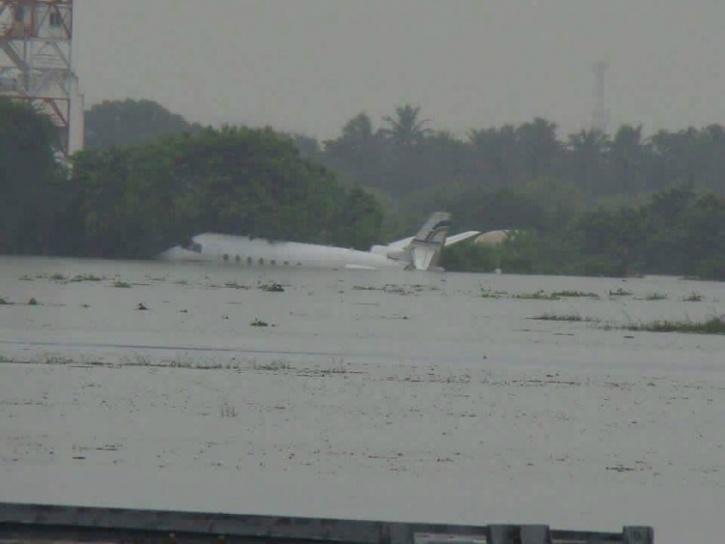 Chennai Airport Flooding