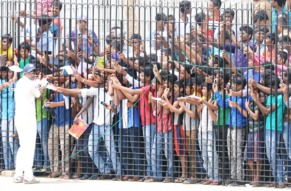 Fans at Chennai