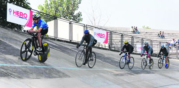 Cycling event in India