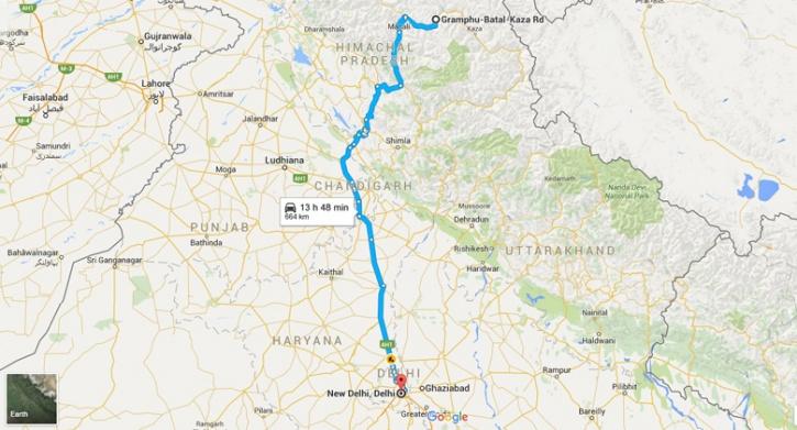 Delhi To Chandrataal