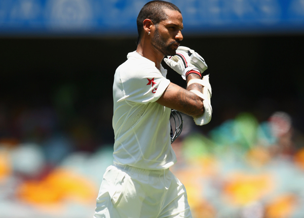 Dhawan was dismissed early on many occasions vs SA