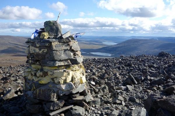 Halti Mountain Peak