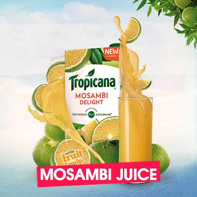 Tropicana Delight Mosambi Juice