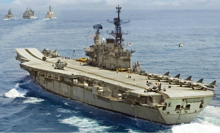 Soon To Be Decommissioned INS Viraat Wins Major Naval Race Event And The Coveted