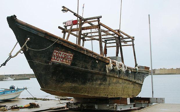 Ghost boats washing ashore Japan
