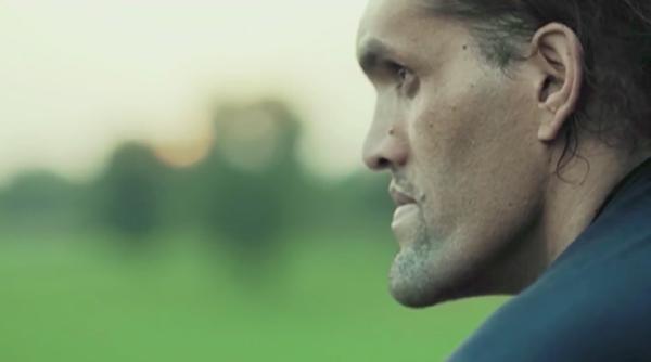 Khali in a TV ad