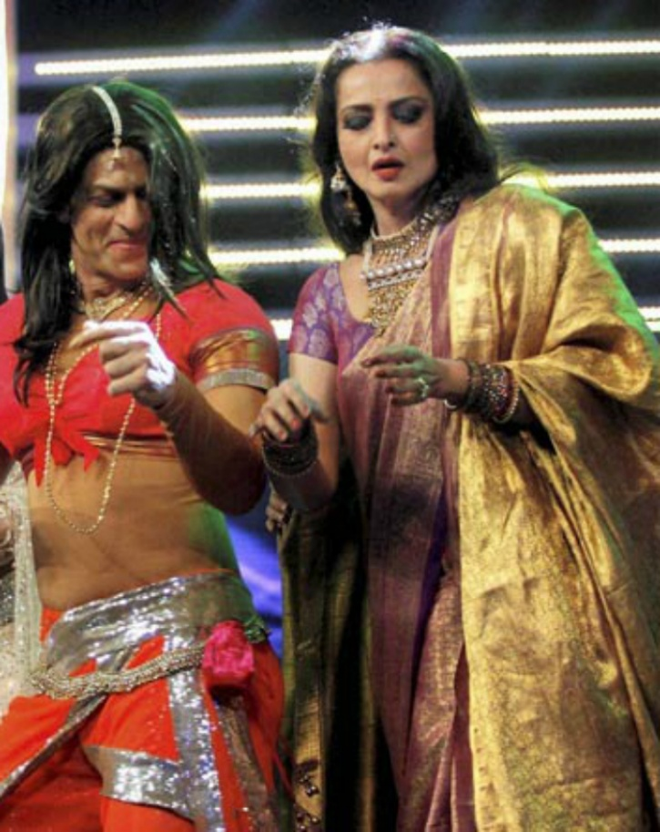 SRK and Rekha