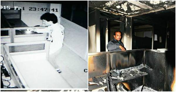 pune office boys fire