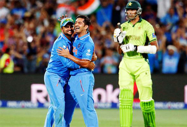 India players celebrate win over Pakistan in 2015 World Cup