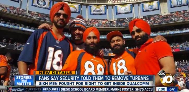 Sikh Broncos fans
