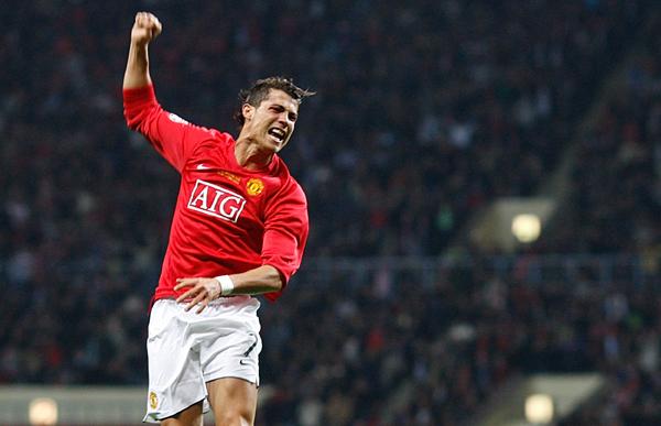 Ronaldo at Man United