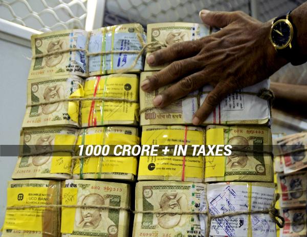 Money india taxes