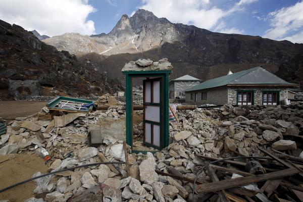 nepal damage