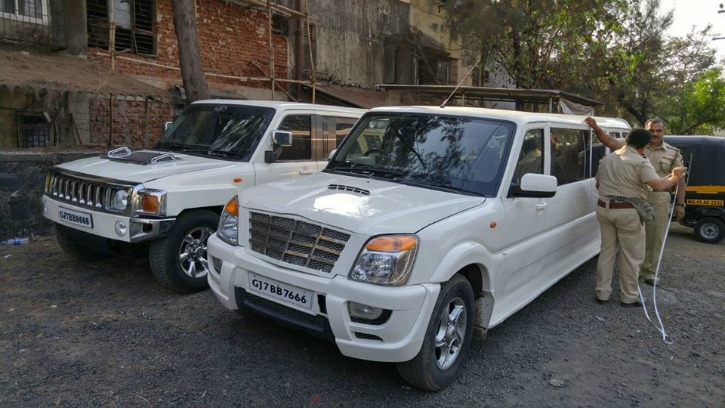 Mahindra Scorpio Modified As Limousine