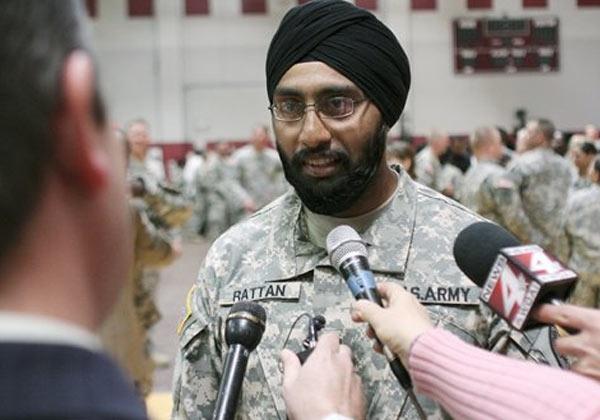 Sikh army US
