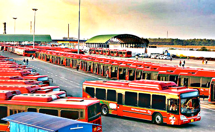 Google, Twitter To Help Delhiites Locate Buses Real Time!