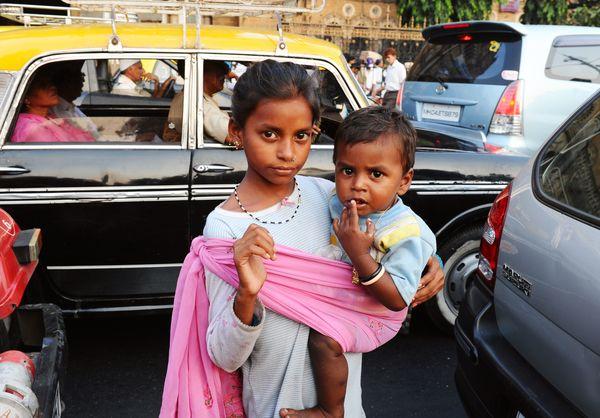 beggar kids india 2