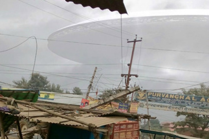These Images Making Rounds On Social Media Claims UFO Sighting In UP