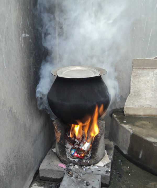 cooking smoke india