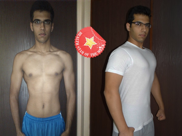 Health Star Of The Week: Vinay's Healthy Weight Gain