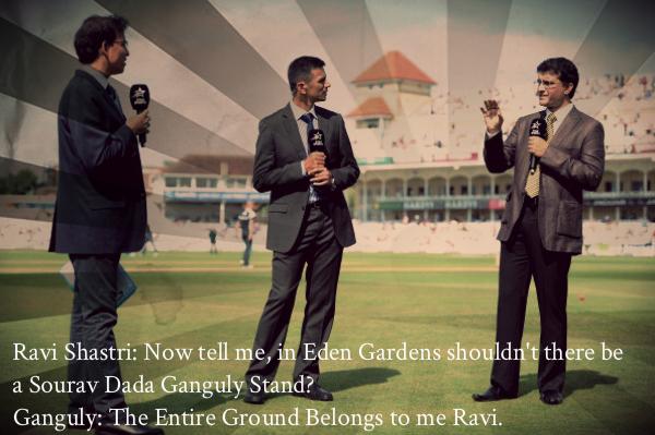 Saurav Ganguly, Ravi Shastri