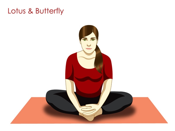 Stretch Your Muscles With Butterfly Pose (Badhakonasana)
