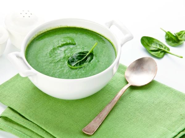 Low Calorie Spinach Soup Recipe
