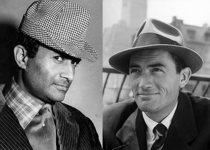 Dev Anand - Gregory Peck