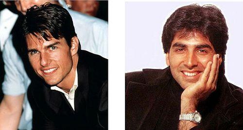 Akshay Kumar - Tom Cruise