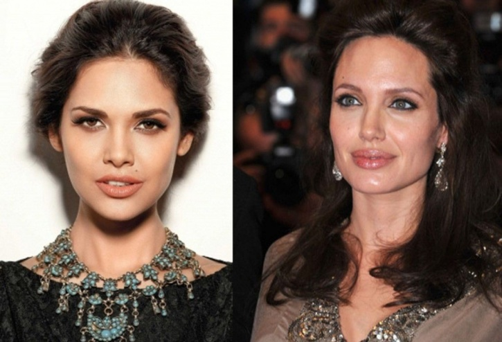 Esha Gupta Angelina Jolie