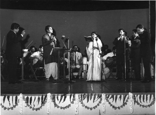 Kishore da and lata didi