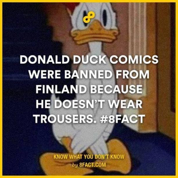 Donald Duck Fact