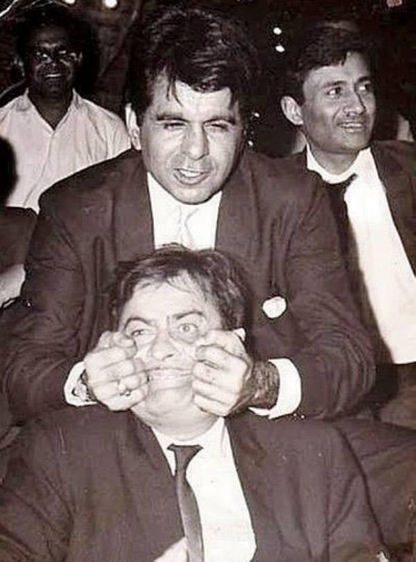 Dev anand, dilip Kumar and raj kapoor