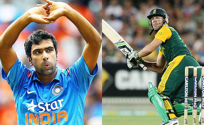 Ravichandran Ashwin AB de Villiers