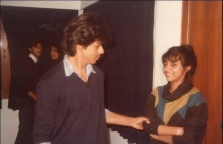 srk young