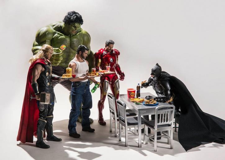 Avengers and Batman