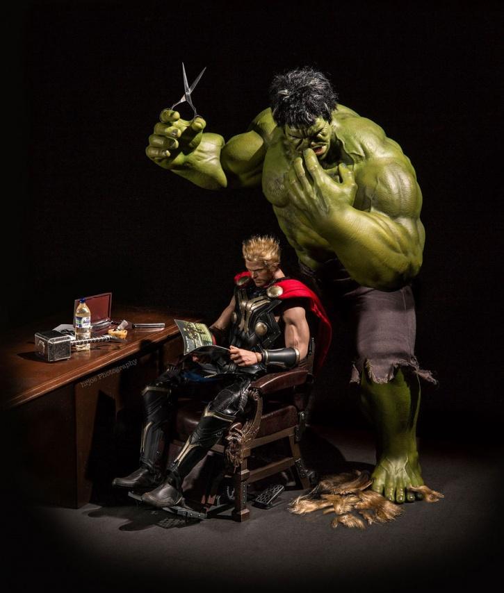 Hulk, Thor