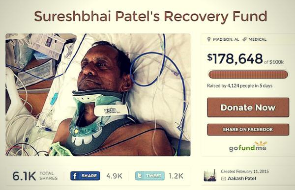 Sureshbai patel recovery fund