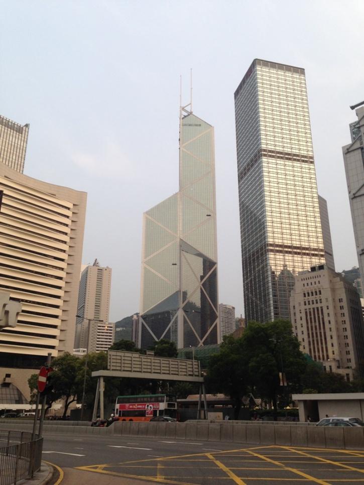 hsbc building hk