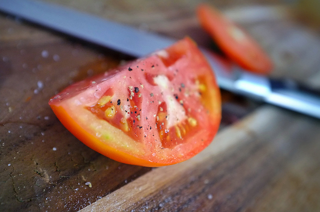 tomato seasoned