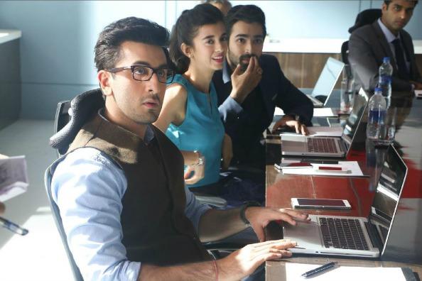 Ranbir Kapoor Multi Tasking