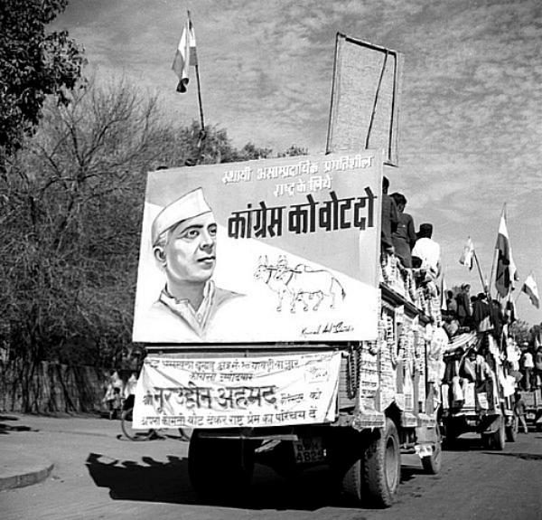 nehru elections