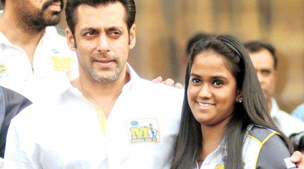 Salman and Arpita Khan