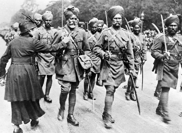 Sikh soldiers Indian Army in France