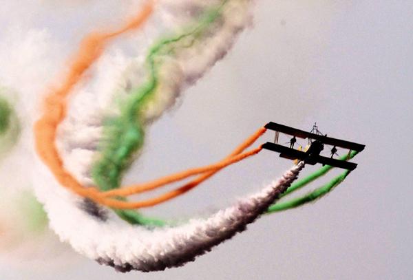 tricolour jet