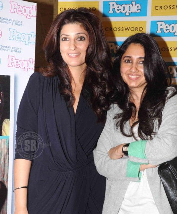 Twinkle and Rinkie Khanna