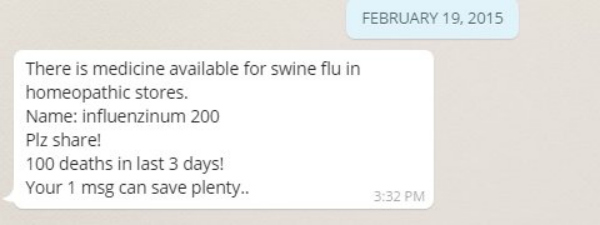 influenza medicine