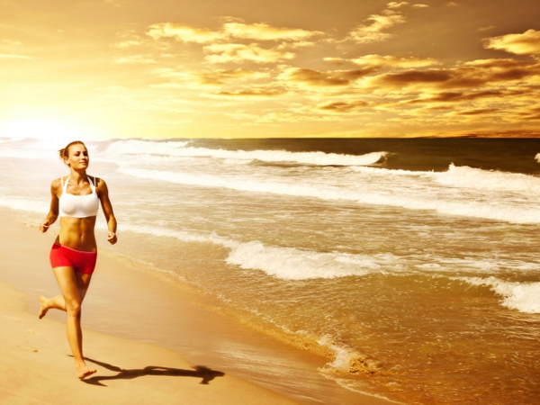 Get Stronger By Running On Sand