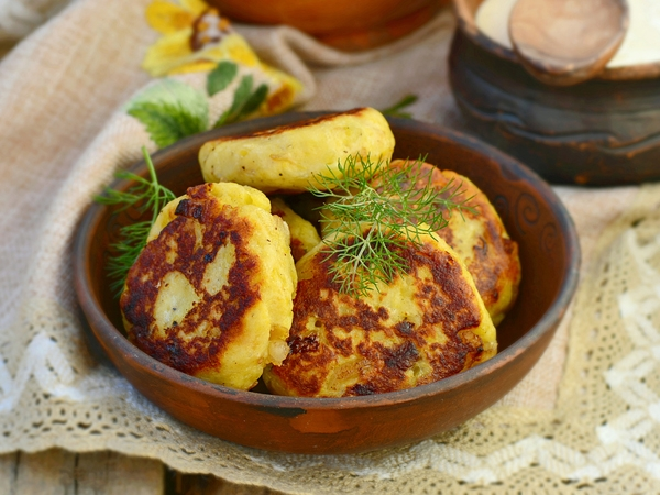 Healthy Corn And Potato Patties